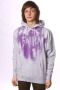 Толстовка Fallen Darkness Heather Grey/Purple