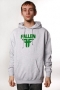 Толстовка Fallen Insignia Heather Grey/Green