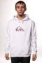 Толстовка Quiksilver Hood Rib Sweat Flag White